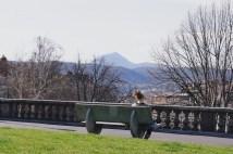 Mardi 18 mars : dans un parc à Clermont