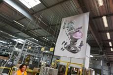 Visite usine centrale vapeur Calor