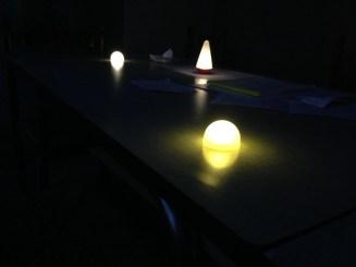 Lundi 2 juin : essais de lumières LED pour des prochaines photos