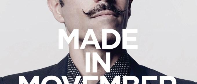 Cette année je participe au Movember