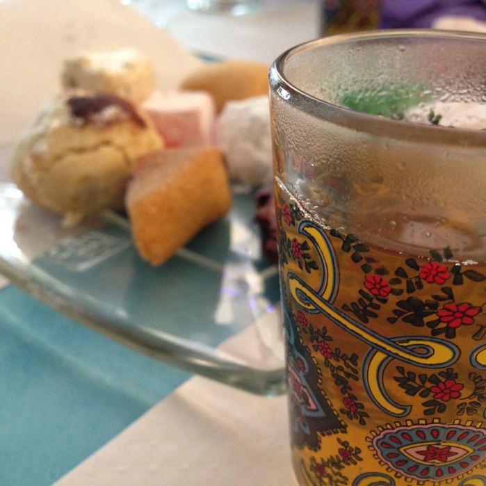 Dimanche 19 avril 2015 : thé à la menthe !