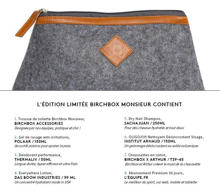 birchbox-monsieur-contenu