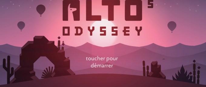 Alto'Odyssey : le jeu zen et addictif