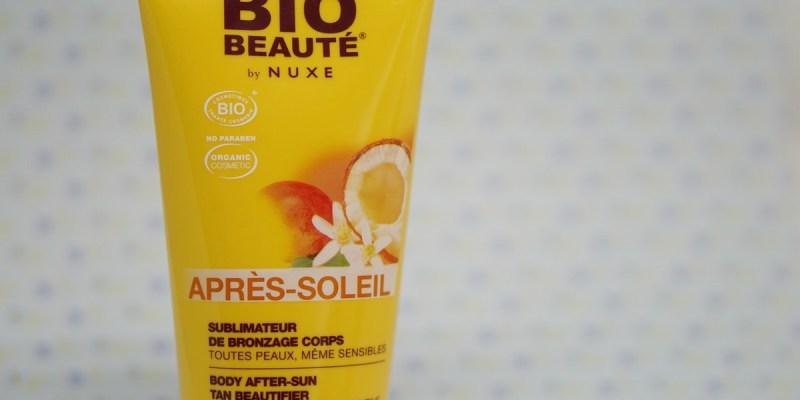 J'ai essayé de prolonger mon bronzage avec l'après-soleil Nuxe Bio-Beauté