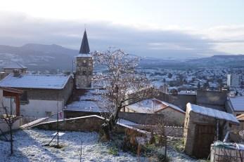 Samedi 16 janvier : Cournon sous la neige