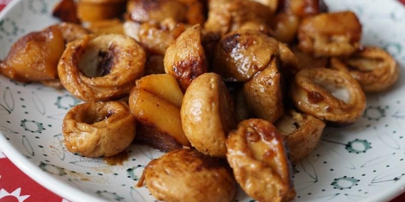 Recette facile : boudin blanc aux pommes
