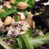 J'ai trouvé une certaine beauté dans ma salade