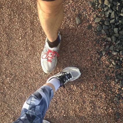 Running mardi avec ma femme