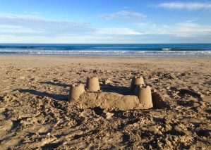 Un château de sable