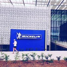 Courir chez Michelin