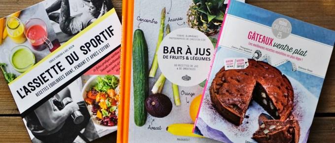 Trois livres pour manger sainement