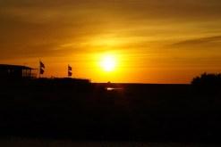 Lever de soleil sur la base nautique