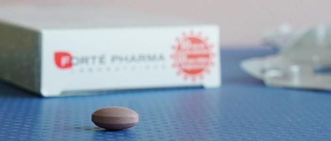 Test des comprimés pour maigrir Forté Pharma Minceur 24 Fort Men