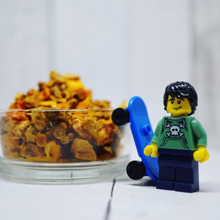 Un Lego s'est glissé dans la séance photo Chakaiclub