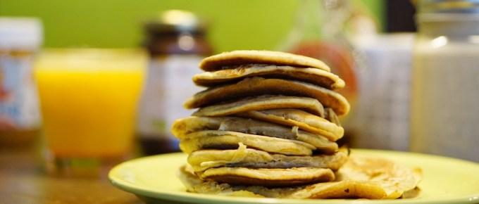 Recette de pancakes plus light que l'ancienne mais toujours aussi gourmande !