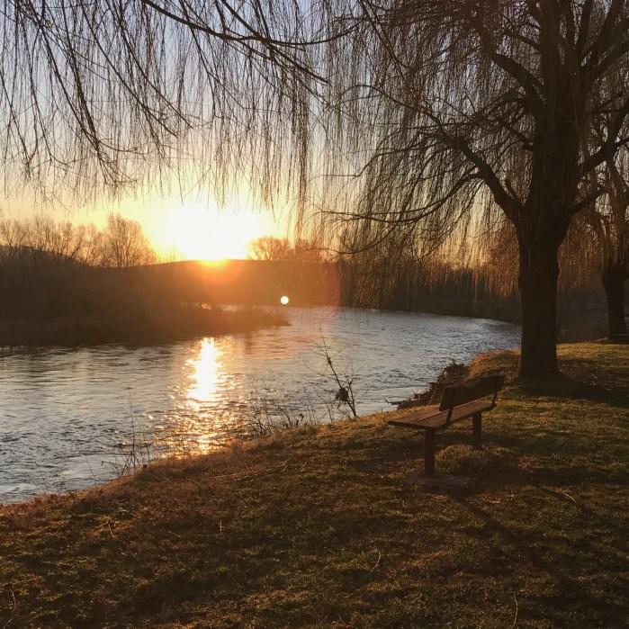 Dimanche matin au lever du soleil