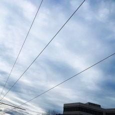 Un ciel très graphique