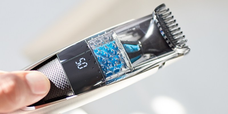 Concours  : gagnez une tondeuse à barbe Philips avec système d'aspiration des poils