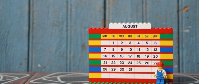 Mes trois objectifs qui feront de ce mois d'août un grand mois