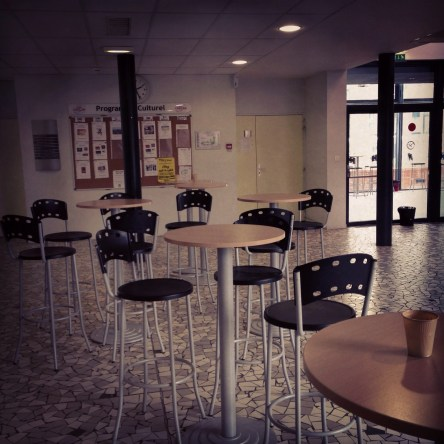 Lundi 18 mars : à la fac à Vichy