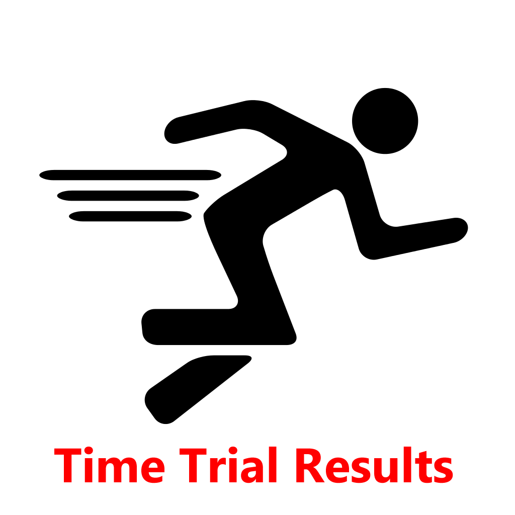 Time trial results — 2 February 2016
