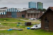 Nederland, The Netherlands, 24-05-2016 Arnhem Uiterwaardenpark Meinerswijk is gelegen bij Arnhem op de zuidoever van de Nederrijn. Het natuurgebied is voor een groot deel bestemd voor de berging van Rijnwater bij hoog water in de rivier. Daarnaast is het een wandel en recreatiegebied vlakbij de stad. De gemeente en een projectontwikkelaar zijn van plan in een klein deel van het gebied woningbouw te ontwikkelen. Tegen deze plannen is protest van onder meer de partij voor de Dieren, Groen Links en Milieudefensie. De woningen zouden worden gebouwd op De Praets wat nu een verwaarloosd bedrijventerrein is dat aam de rand van Meinerswijk ligt. Foto: Bert Spiertz