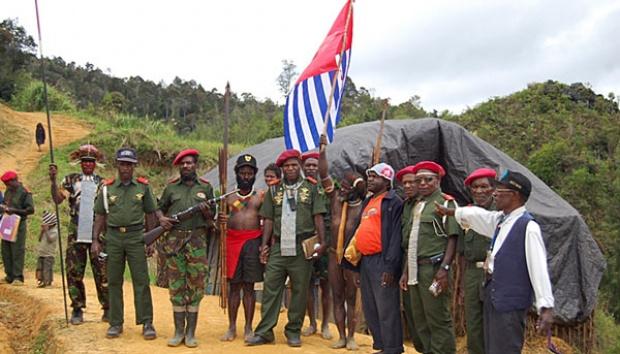 KKB Serang Mapolsek Ilaga, Papua