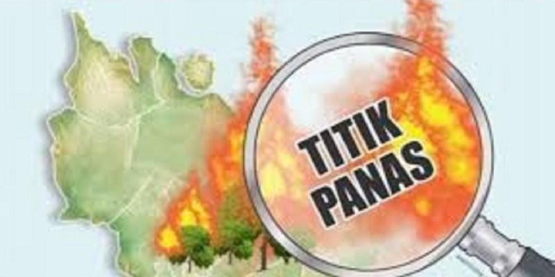 Sumatera Muncul 50 Titik Panas Terbanyak Lampung, Riau 2 Titik