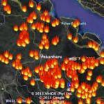 Riau Dikepung 88 Hotspot, di Bengkalis Ada 30 Titik