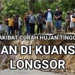 Video: Jalan Longsor di Pulau Kedundung Kuansing