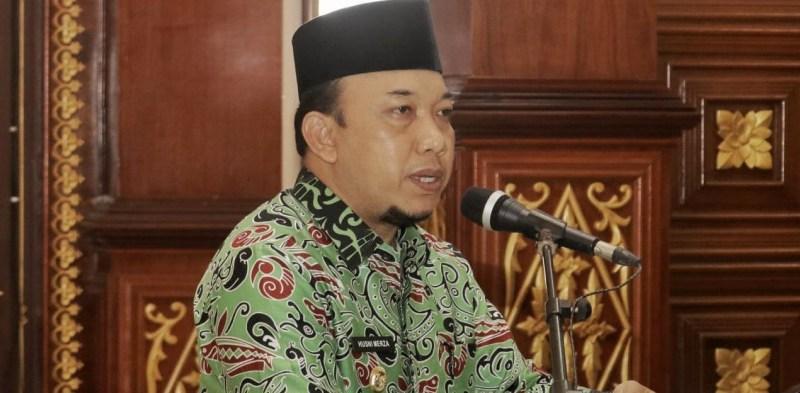 Wakil Bupati Siak Husni Merza Buka Kegiatan Evaluasi Mandiri LPPD Kabupaten Siak Tahun 2020