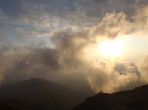 მზის ჩასვლა, ლაგოდეხის ნაკრძალი