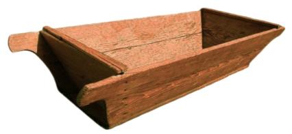 Backmulde aus Holz