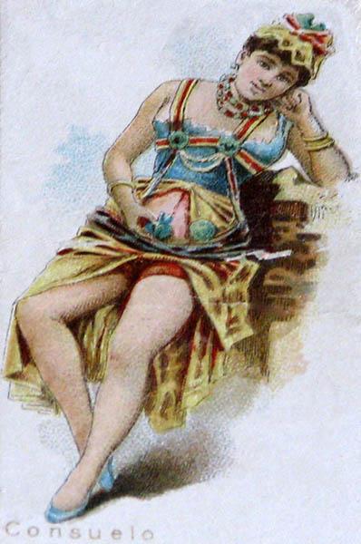 koloriert: Ballerina