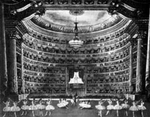 Scala, Milano, Ballett