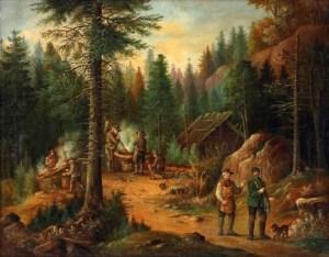 Köhler, Wald