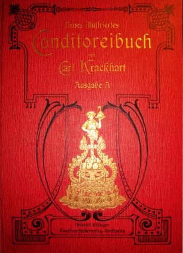 Konditoreibuch, Konditorei, Buchcover