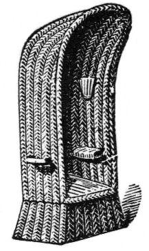 sw-Illustration: Strandkorb