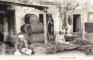 Foto: indischer Korbmacher