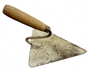 Werkzeug: Dreieckskelle