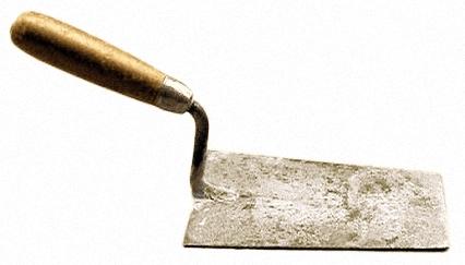 Werkzeug: Maurerkelle