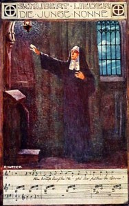 Nonne, Schubertlied