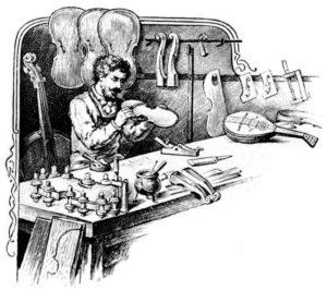 Saitenmacher, Handwerk
