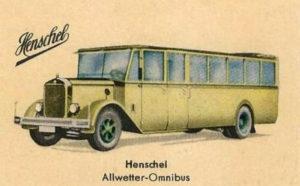 Busfahrer, Omnibus, Henschel, Bus