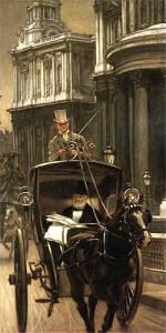Kutscher, Kutsche, Pferd, buggy-and-horse, Buggy