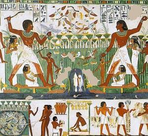 Vogelfang, Ägypten, Vogelfänger