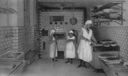 Nonnen, Backstube, Backen, Brot