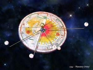 Astronomen, Orrery