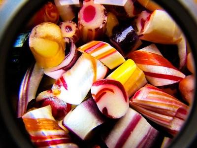 Foto: bunte Bonbons