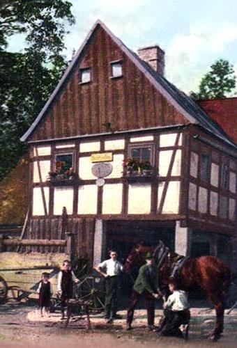 Hufschmiede, Fachwerkhaus, Bayern